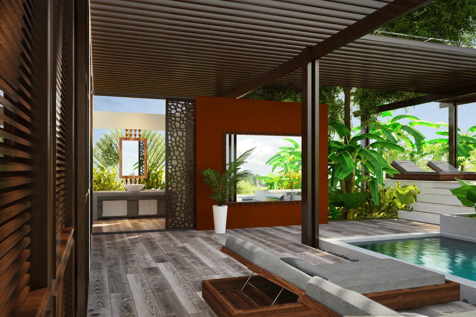pool deck design siem reap