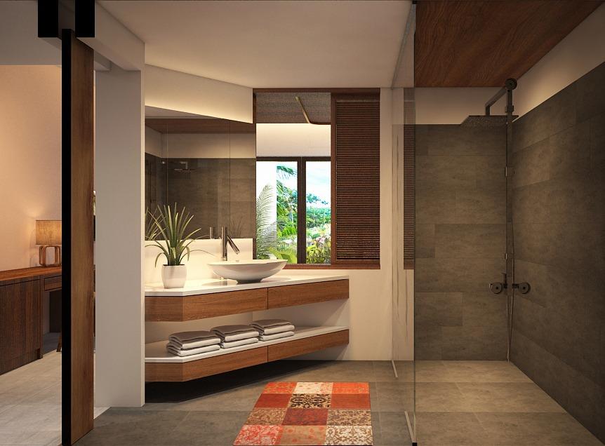 deluxe bathroom interior designer