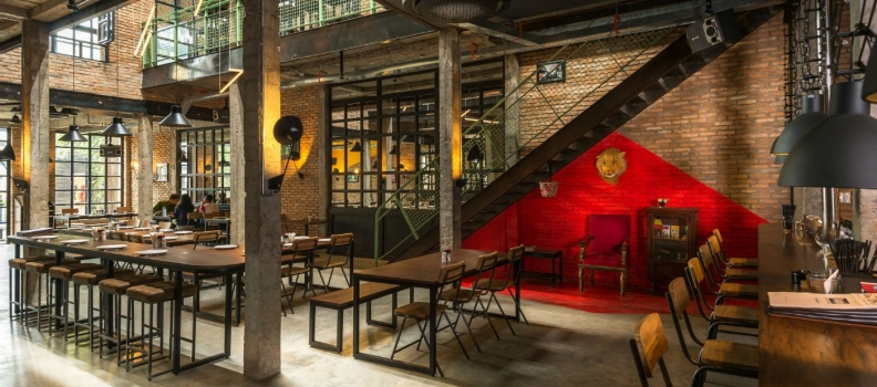 Industrial Brewery Pub in Saigon